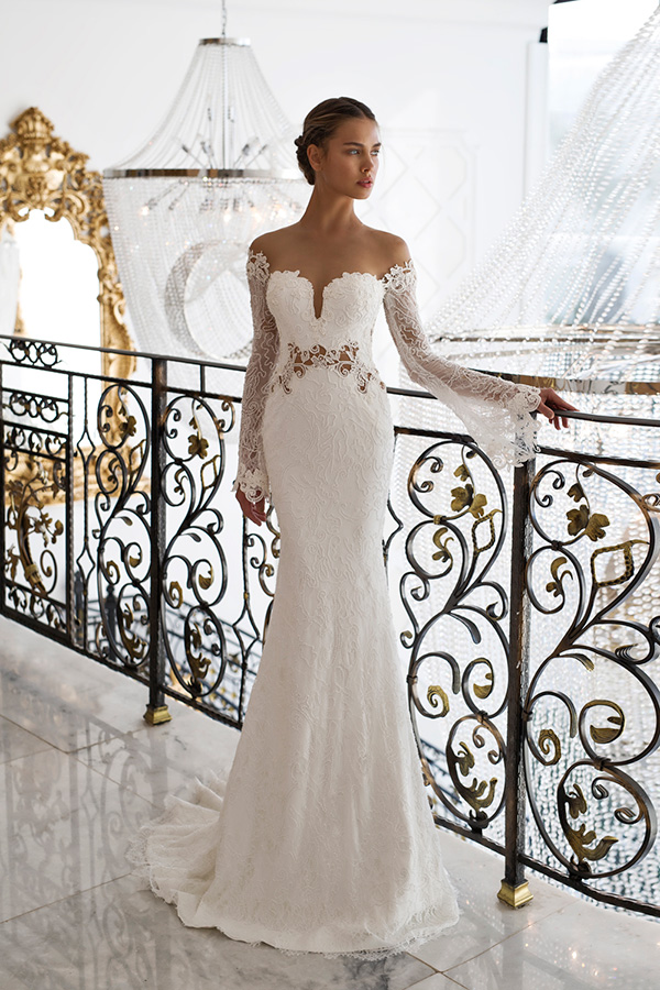 amazing wedding dress Italy